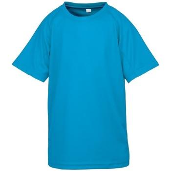 Kleidung Jungen T-Shirts Spiro S287J Ocean Blau