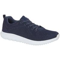 Schuhe Sneaker Low Dek  Marineblau