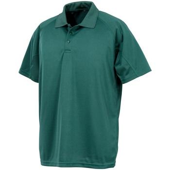 Kleidung Herren Polohemden Spiro S288X Flaschengrün