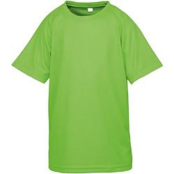 Kleidung Kinder T-Shirts Spiro SR287B Lime Punch