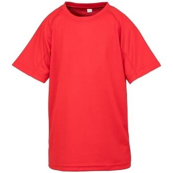 Kleidung Kinder T-Shirts Spiro SR287B Rot