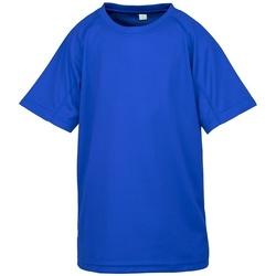 Kleidung Kinder T-Shirts Spiro SR287B Königsblau