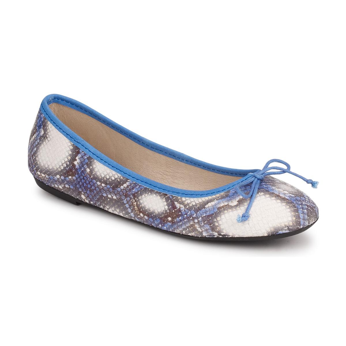 Koah GAME Blau - Kostenloser Versand bei Spartoode ! - Schuhe Ballerinas Damen 45,00 €