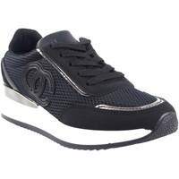 Schuhe Damen Sneaker Low Bienve Damenschuh  abx028 schwarz Schwarz