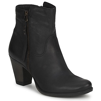 Schuhe Damen Low Boots Dream in Green HAYDAR Schwarz