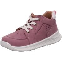 Schuhe Mädchen Sneaker Low Superfit Schnuerschuhe Breeze 000366-8510 rosa