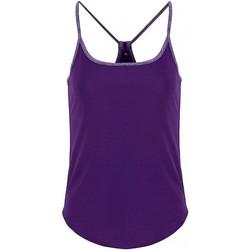 Kleidung Damen Tops / Blusen Tridri TR043 Violett