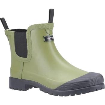 Schuhe Damen Gummistiefel Cotswold  Grün