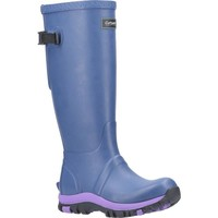 Schuhe Damen Gummistiefel Cotswold  Blau