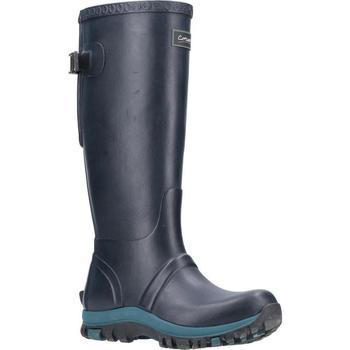 Schuhe Damen Gummistiefel Cotswold  Marineblau