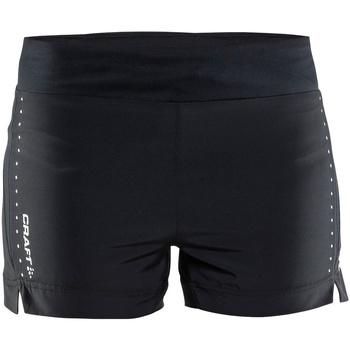 Kleidung Damen Shorts / Bermudas Craft CT56F Schwarz