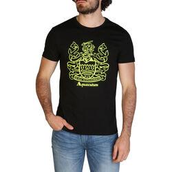 Kleidung Herren T-Shirts Aquascutum - qmt019m0 Schwarz