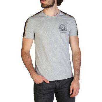Kleidung Herren T-Shirts Aquascutum - qmt017m0 Grau