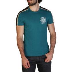 Kleidung Herren T-Shirts Aquascutum - qmt017m0 Grün