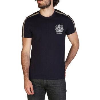 Kleidung Herren T-Shirts Aquascutum - qmt017m0 Blau