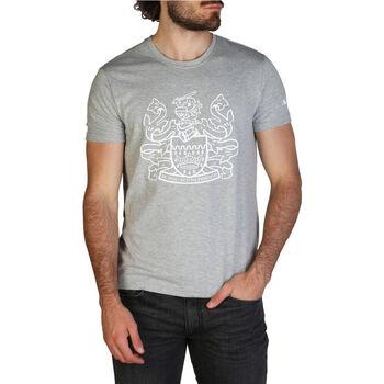 Kleidung Herren T-Shirts Aquascutum - qmt002m0 Grau