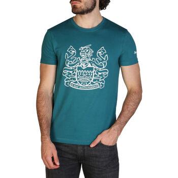 Kleidung Herren T-Shirts Aquascutum - qmt002m0 Grün