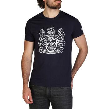 Kleidung Herren T-Shirts Aquascutum - qmt002m0 Blau