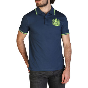 Kleidung Herren Polohemden Aquascutum - qmp025 Blau