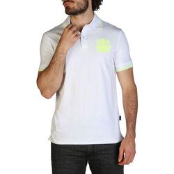 Kleidung Herren Polohemden Aquascutum - qmp025 Weiss
