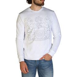 Kleidung Herren Sweatshirts Aquascutum - fai001 Weiss