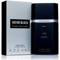 Beauty Herren Eau de parfum  Azzaro Silver Black - köln - 100ml - VERDAMPFER Silver Black - cologne - 100ml - spray