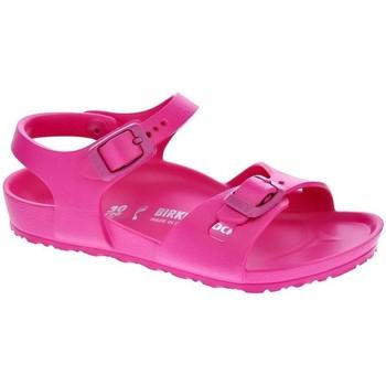 Schuhe Mädchen Sandalen / Sandaletten Birkenstock Rio Eva Rosa