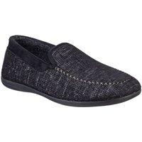 Schuhe Herren Hausschuhe Cotswold  Schwarz