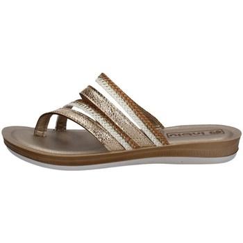 Schuhe Damen Sandalen / Sandaletten Inblu BA 36 Silbern