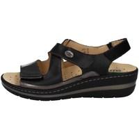 Schuhe Damen Sandalen / Sandaletten Robert 32834-1 SCHWARZ