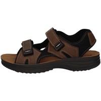 Schuhe Herren Sportliche Sandalen Inblu RY 25 Rot