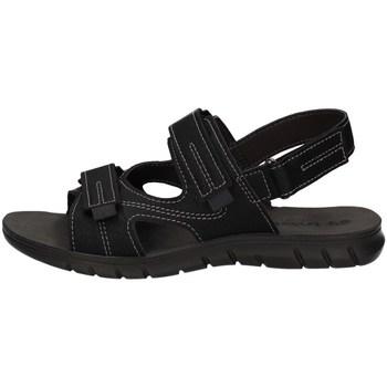 Schuhe Herren Sportliche Sandalen Inblu FO 30 Schwarz