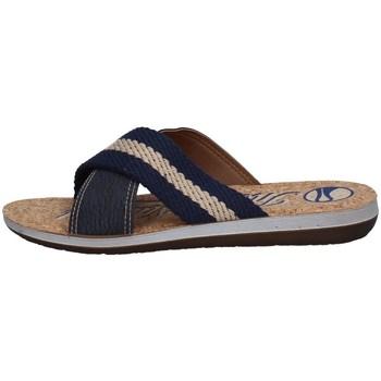 Schuhe Herren Pantoffel Inblu DA 16 Blau