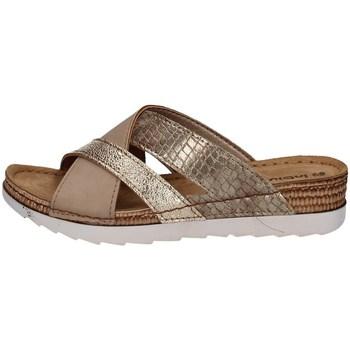 Schuhe Damen Pantoffel Inblu OF 25 Gelb