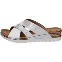 Schuhe Damen Pantoffel Inblu OF 25 Weiss
