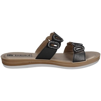 Schuhe Damen Pantoffel Inblu BA 37 Schwarz