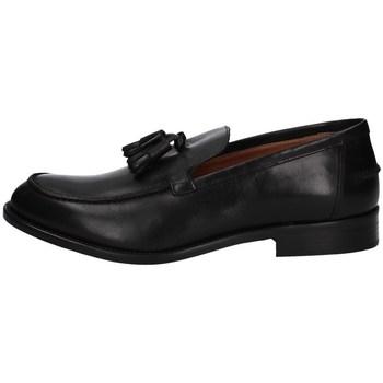 Schuhe Herren Slipper Hudson 726 SCHWARZ