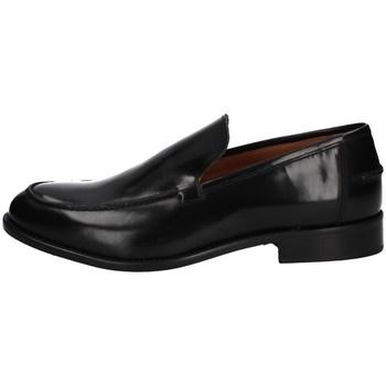 Schuhe Herren Slipper Hudson 724 SCHWARZ