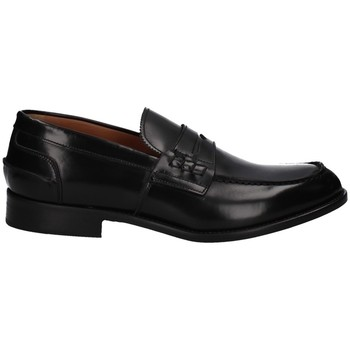 Schuhe Herren Slipper Hudson 540 SCHWARZ