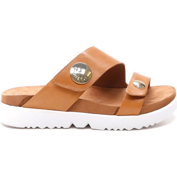 Schuhe Damen Pantoffel Stonefly 213907 Braun