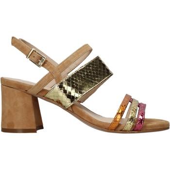 Schuhe Damen Sandalen / Sandaletten Carmens Padova 45069 Braun