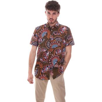 Kleidung Herren Kurzärmelige Hemden Sseinse CE665SS Grün