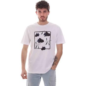 Kleidung Herren T-Shirts Sseinse TE1818SS Weiß