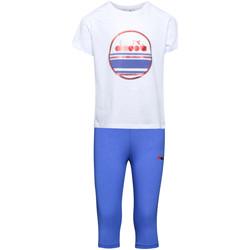 Kleidung Kinder Jogginganzüge Diadora 102175918 Weiß