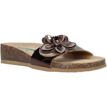 Schuhe Damen Pantoffel Bionatura 12AMB21-I-MITBA1 Braun