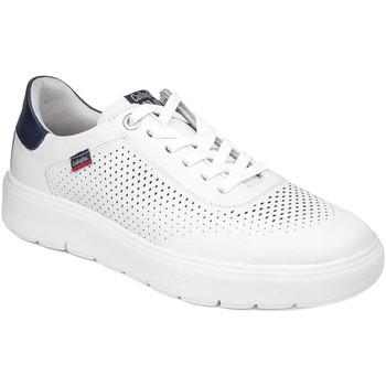 Schuhe Herren Sneaker Low CallagHan 45505 Weiß