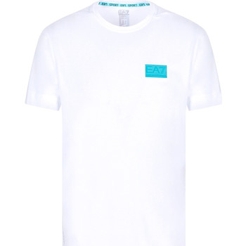 Kleidung Herren T-Shirts Ea7 Emporio Armani 3KPT50 PJAMZ Weiß