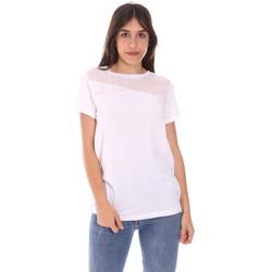 Kleidung Damen T-Shirts Ea7 Emporio Armani 3KTT34 TJ4PZ Weiß