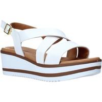 Schuhe Damen Sandalen / Sandaletten Susimoda 2827 Weiß