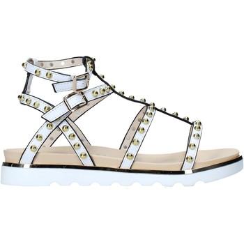Schuhe Damen Sandalen / Sandaletten Keys K-4976 Weiß